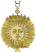 Illustrasjon fra 'Geheime Figuren der Rosenkreuzer aus dem 16. und 17. Jahrhundert'