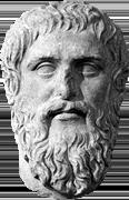 Statue av Platon